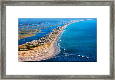 Magical Topsail Island Framed Print by Betsy C Knapp