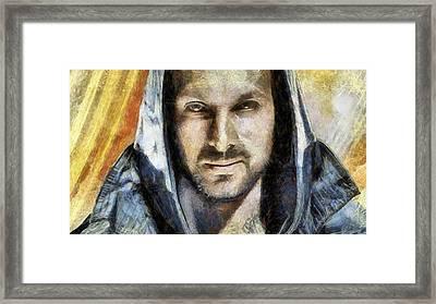 Magician Dynamo Framed Print by Arin Koleva