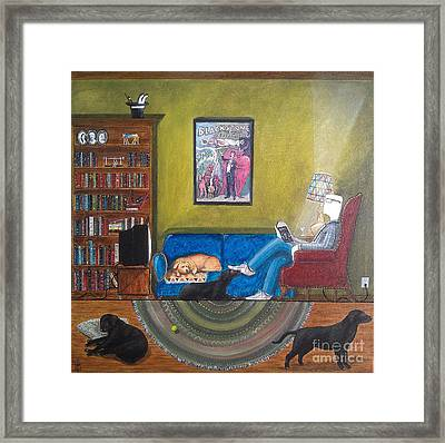 Magic's Room Framed Print by John Lyes