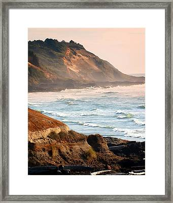 Magnificent Coast  Framed Print by Marty Koch