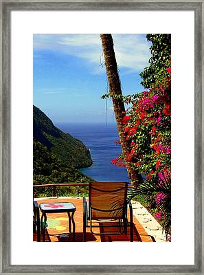Magnificent Ladera Framed Print by Karen Wiles
