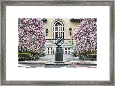 Magnolia Plaza Framed Print by JC Findley