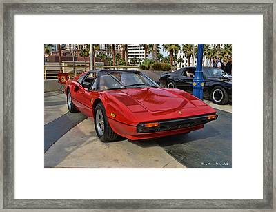 Magnum Pi Framed Print by Tommy Anderson