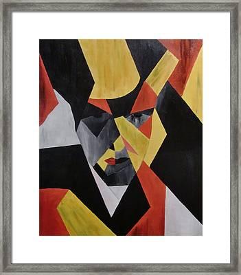 Magritte-esque Framed Print by Dirk Brade