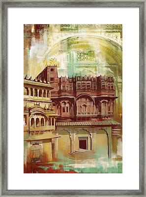 Maharangarh Fort Framed Print by Catf