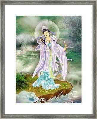 Malang Guanyin Framed Print by Lanjee Chee
