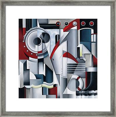 Maiden Voyage Framed Print by Catherine Abel
