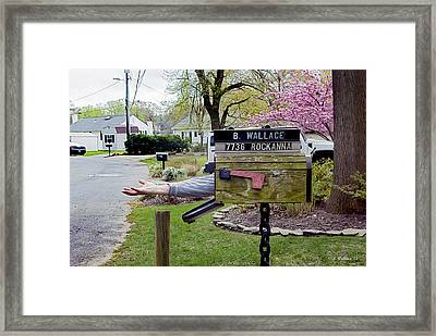 Mail Today? Framed Print by Brian Wallace