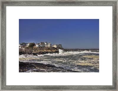 Main Coastline Framed Print by Joann Vitali