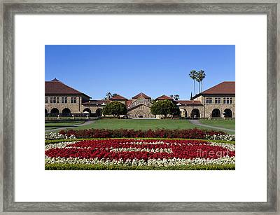 Main Quad Stanford California Framed Print by Jason O Watson