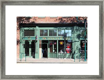 Main Street Americana Pleasanton California 5d23985 Framed Print by Wingsdomain Art and Photography