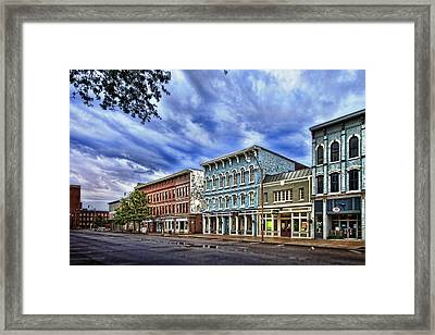 Main Street Usa Framed Print by Tom Mc Nemar