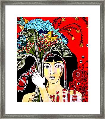 Majestic Framed Print by Amy Sorrell