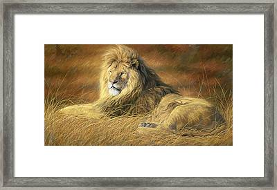 Majestic Framed Print by Lucie Bilodeau