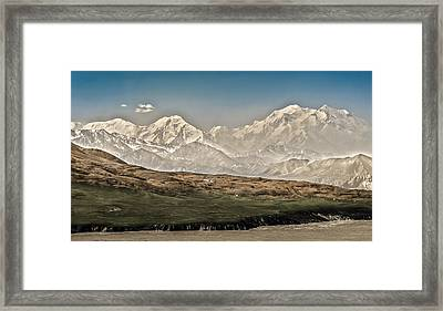 Majestic Mount Mckinley Framed Print by Penny Lisowski