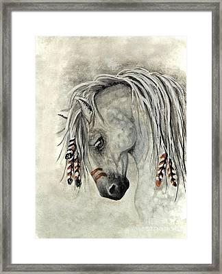 Majestic Mustang 30 Framed Print by AmyLyn Bihrle