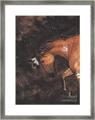 Majestic Mustang Series 40 Framed Print by AmyLyn Bihrle