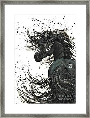Majestic Spirit Horse 65 Framed Print by AmyLyn Bihrle