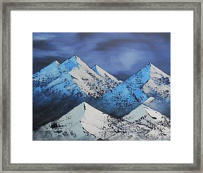 Majestic Rockies Framed Print by Jared Swanson