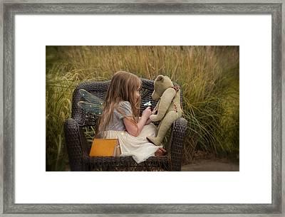 Make A Wish Framed Print by Robin-lee Vieira
