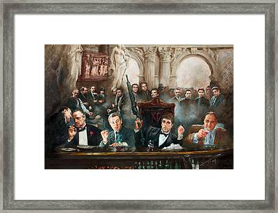 Make Way For The Bad Guys Col Framed Print by Ylli Haruni