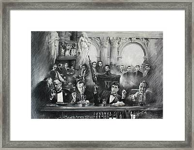 Make Way For The Bad Guys Framed Print by Ylli Haruni