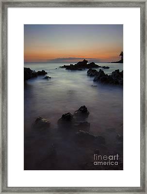 Makena Dream Framed Print by Mike  Dawson