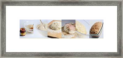 Making Bread Framed Print by Science Source