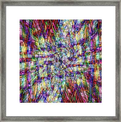 Making Sense Of Things Framed Print by Kellice Swaggerty