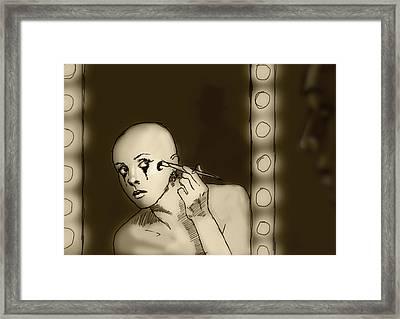 Making Up Framed Print by H James Hoff