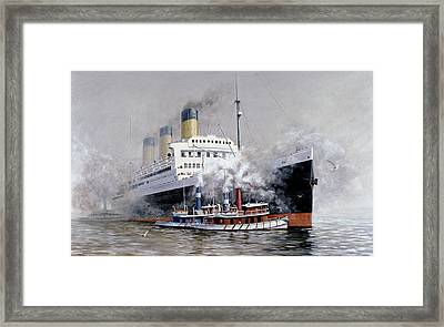Making Way Framed Print by Michael Swanson