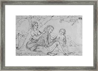 Malaspina Expedition.vavao Or Tonga Framed Print by Everett