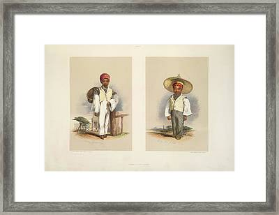 Malay Boys Framed Print by British Library