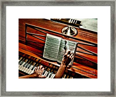 Momma's Hymnal Framed Print by Robert Frederick