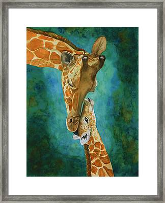 Mama's Love Framed Print by Laurie Henry