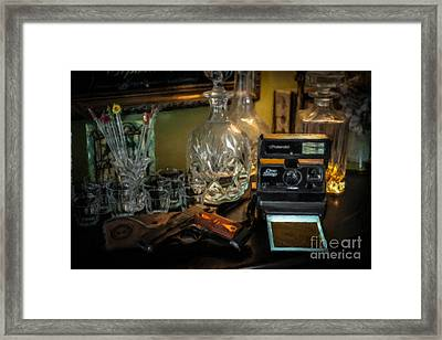 Man Cave Old School Framed Print by Dale Powell