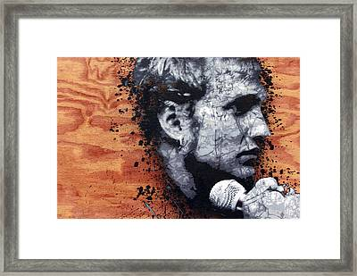 Man In The Box Framed Print by Bobby Zeik