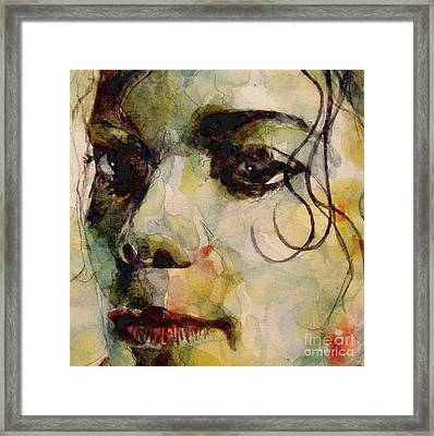 Man In The Mirror Framed Print by Paul Lovering