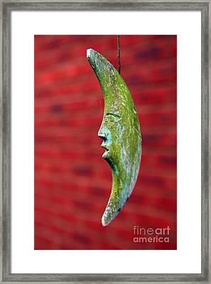 Man In The Moon Framed Print by Jeremy Hayden