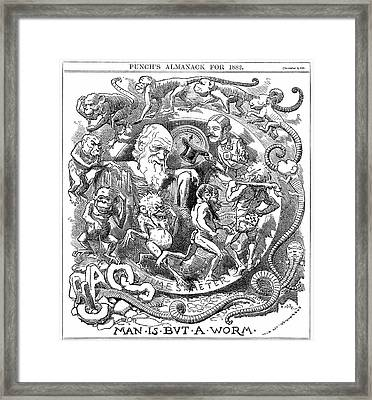 Man Is But A Worm Framed Print by Universal History Archive/uig