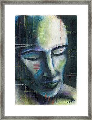 Man-machine Framed Print by John Ashton Golden