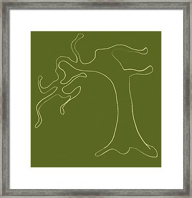 Man Versus Nature Framed Print by Michelle Calkins