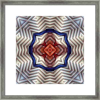 Mandala 11 Framed Print by Terry Reynoldson