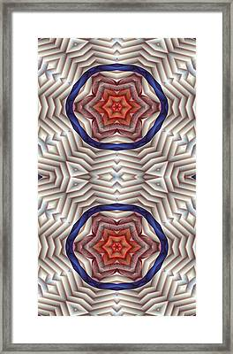 Mandala 12 For Iphone Double Framed Print by Terry Reynoldson