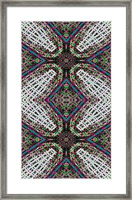 Mandala 32 For Iphone Double Framed Print by Terry Reynoldson