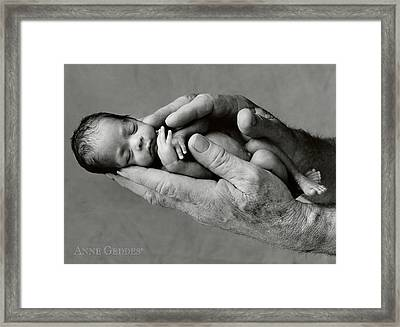 Maneesha And Jack Framed Print by Anne Geddes