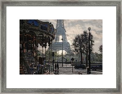 Manege Parisienne Framed Print by Joachim G Pinkawa