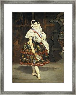Manet, �douard 1832-1883. Lola De Framed Print by Everett
