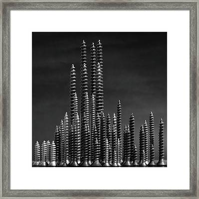 Manhattan Framed Print by Giorgio Toniolo