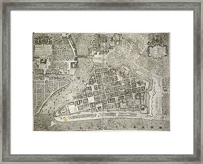 Manila Framed Print by British Library